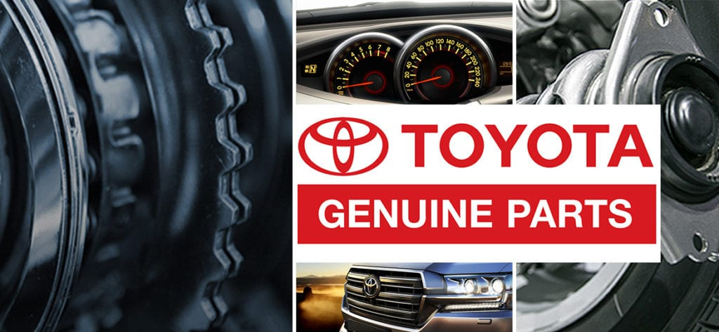 TOYOTA Genuine Parts Car Parts Direct
