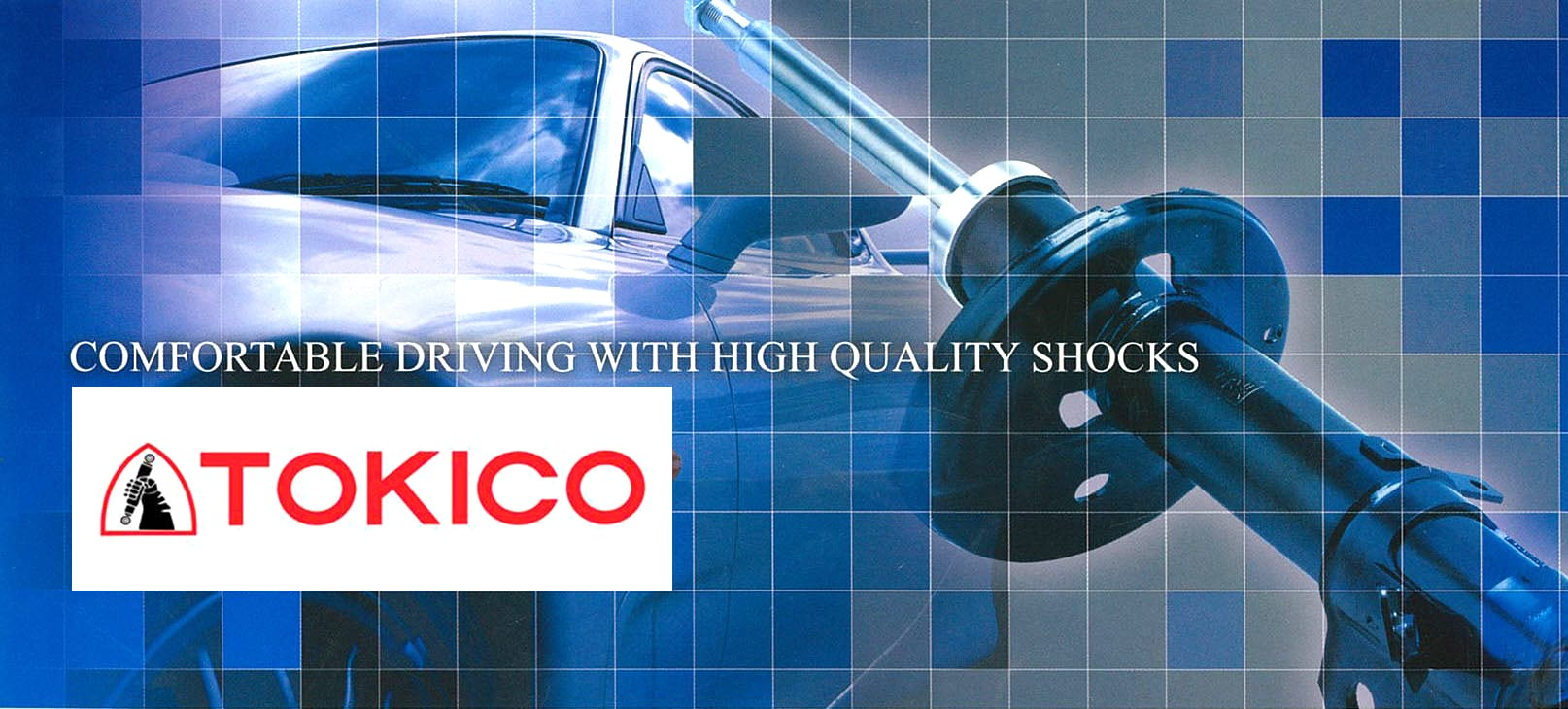 TOKICO Shock Absorbers JDM car parts. Auto Parts. Japanese car parts. Toyota Parts