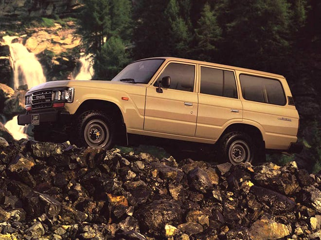 Land Cruiser 60 series-1980 - 1989