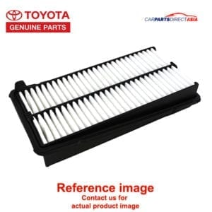 17801-54180 AIR FILTER, TOYOTA GENUINE PARTS HILUX * (LN141, LN145, LN146, LN152, LN166, LN167, LN170 SERIES, LN191, LN192)