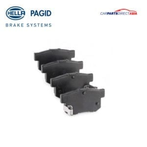 BRAKE PAD D5056, REAR HELLA HONDA ACCORD, CIVIC, INTEGRA, JAZZ, ODYSSEY/ MG ZR, ZS / SUZUKI JIMNY, SWIFT * (CB8, CB9, ED9, ES9, EJ, FD1, FD2, RS416)