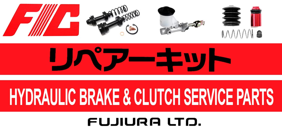 FIC Fujiura Hydraulic Brake & Clutch Service Parts. Japanese Car Parts