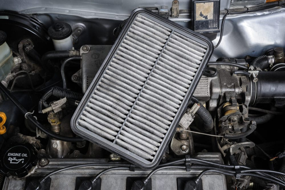 What are the symptoms of a bad air filter?