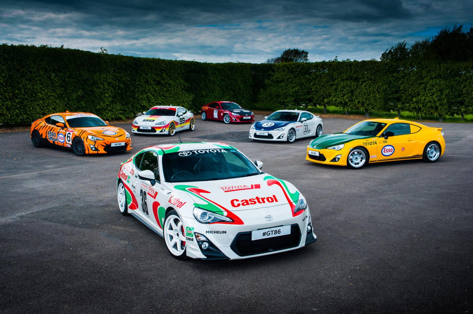 Toyota's History at the Goodwood Festival of Speed Car Parts Direct Toyota Parts