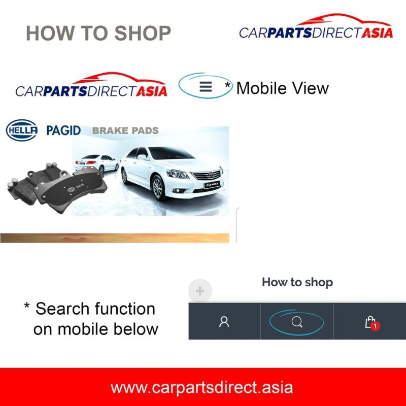 HOW TO SHOP on Car Parts Direct