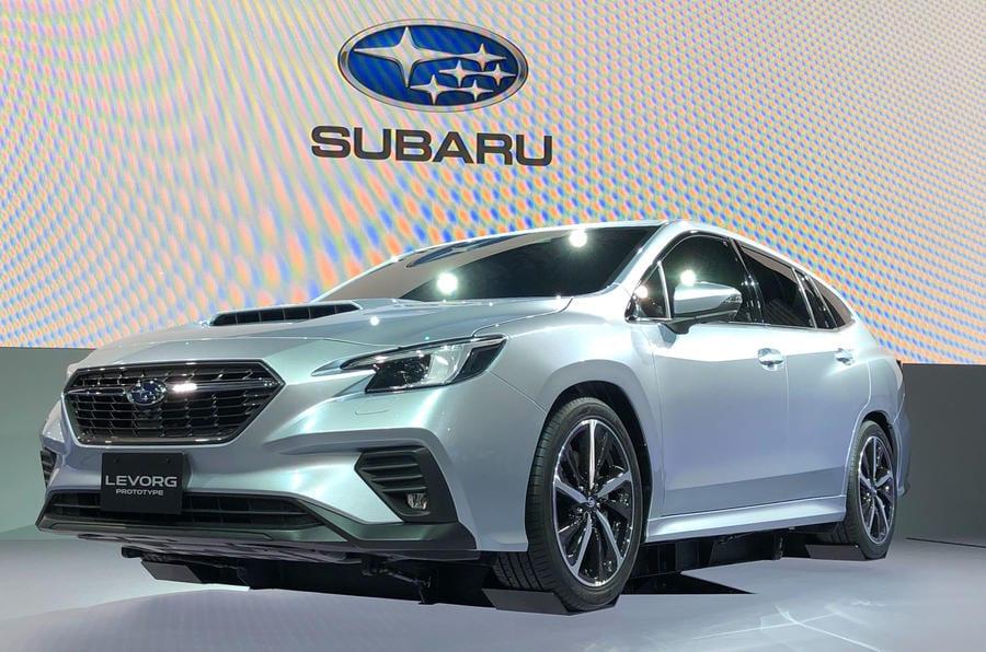 Tokyo Motor Show 2019 Subaru Levorg Car Parts