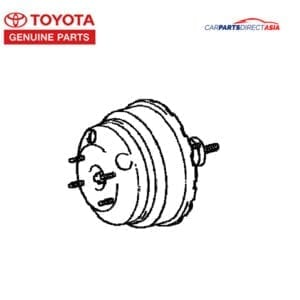 44610-60320 BRAKE BOOSTER, LAND CRUISER 70 SERIES * (BJ75, HJ75, HZJ75, LJ70, PZJ5)