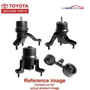 12361-0T130 ENGINE MOUNTING FRT, TOYOTA-GEN ALTIS * (ZRE141, ZRE171)