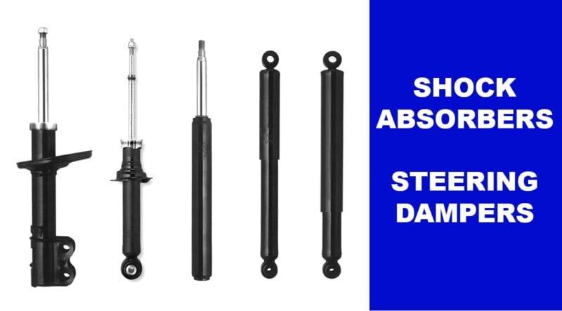 Shock Absorbers & Steering Damper Car Parts for sale online