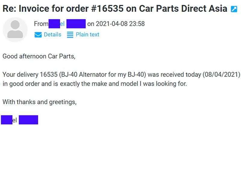 Car Parts For Sale Online