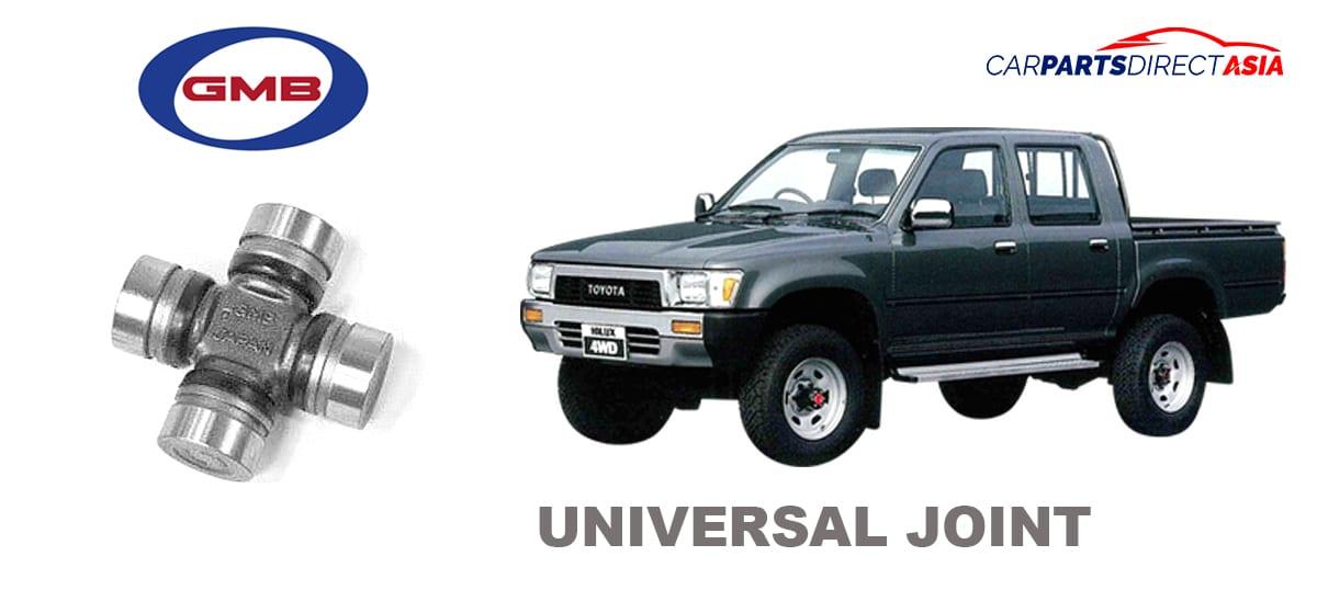 GUT21 UNIVERSAL JOINT, GMB TOYOTA HILUX 4WD / VIGO / DYNA * (HZJ75, KUN25, KUN26, LN106, LN65, GGN25, TGN26)