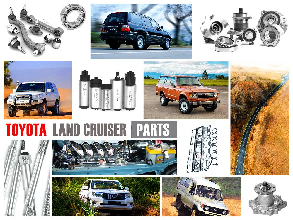 TOYOTA LAND CRUISER PARTS FOR SALE ONLINE
